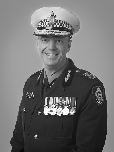 WA Police Force Commissioners   Western Australia Police Force