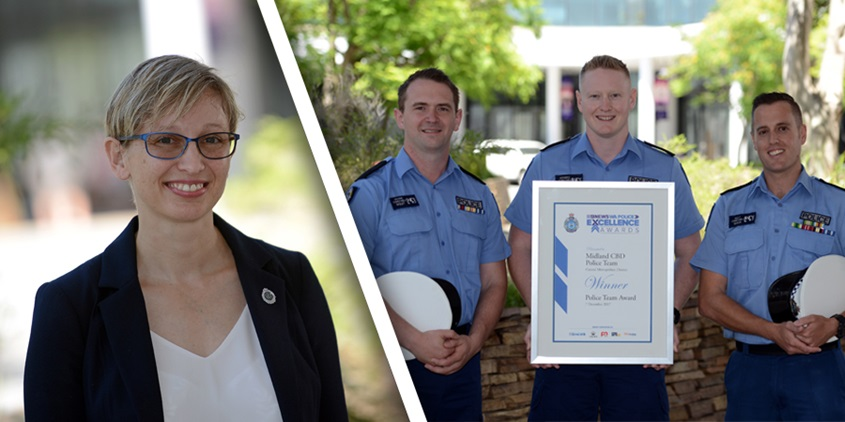Nine News WA Police Excellence Awards Winners 2017