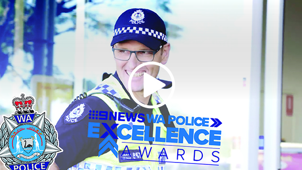 Nine News WA Police Excellence Awards video featuring Ballajura Police