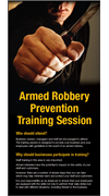 Armed Robbery Prevention Training Invite