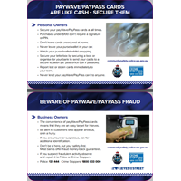 PayWave and PayPass fraud brochure