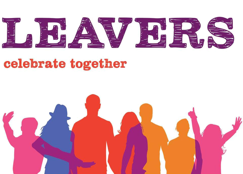 Leavers WA logo with coloured silhouettes of young people